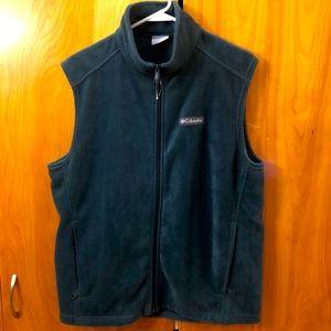 Columbia Teal Fleece Vest